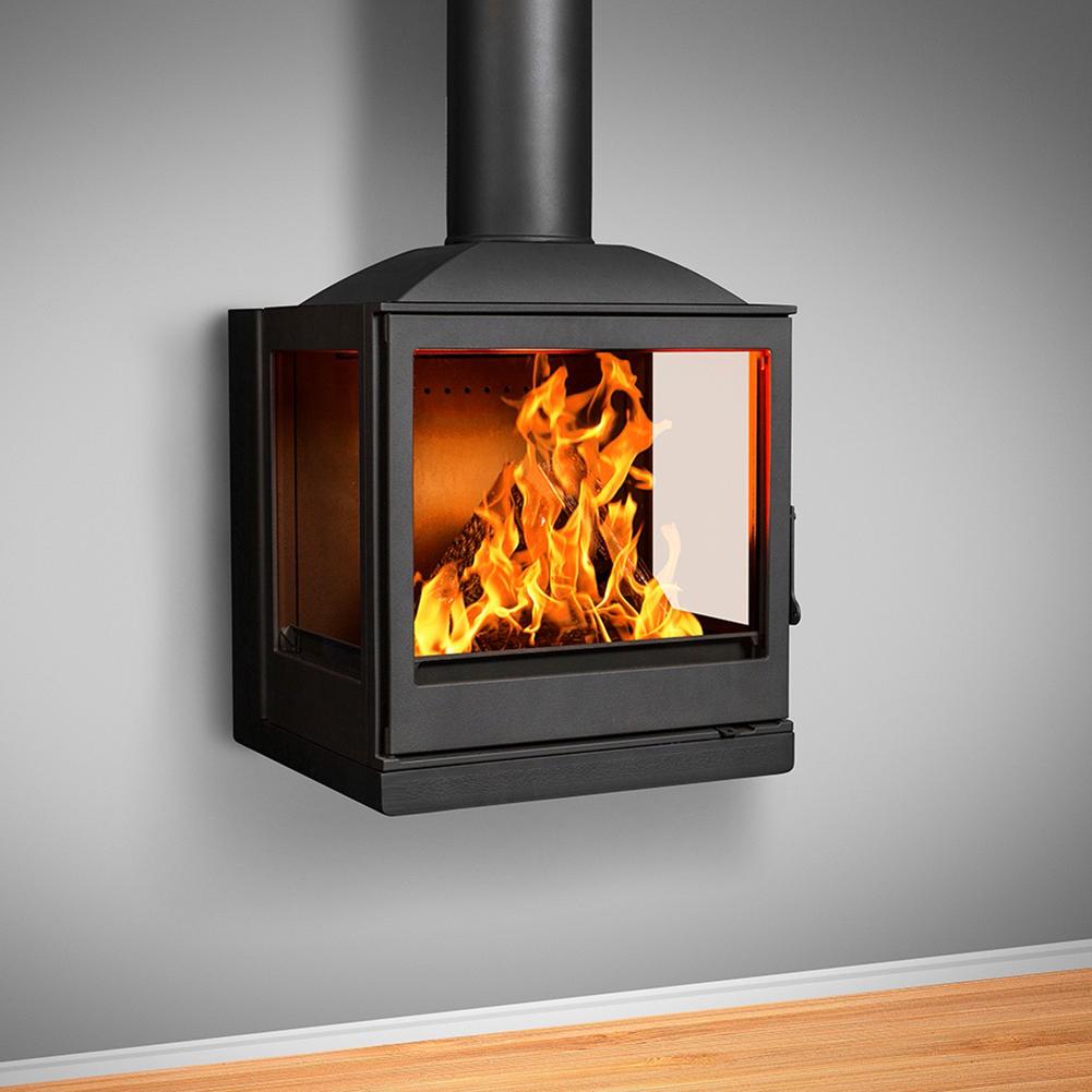 Wood Burning Fireplaces Nova Wall Side Glass